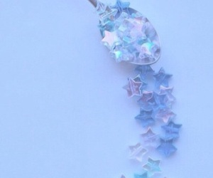 blue, stars, and pastel image