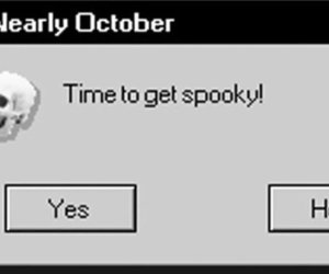 spooky, Halloween, and october image