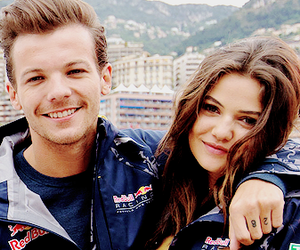 danielle campbell, louis tomlinson, and louelle image