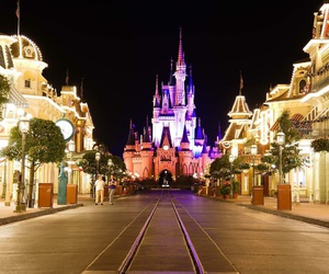 disney, magical, and place image