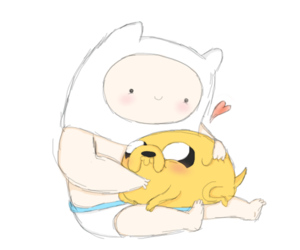 adventure time and baby image