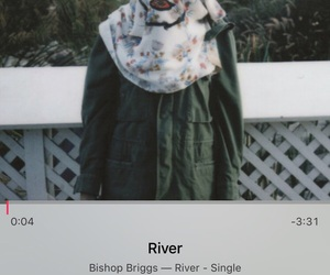 river, song, and bishop briggs image