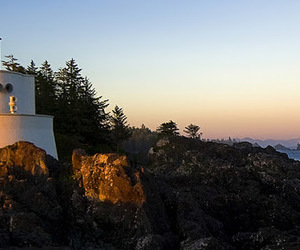 british columbia, canada, and lighthouse image