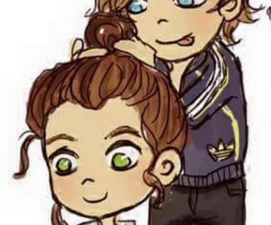 fan arts, louis tomlinson, and larry stylinson image