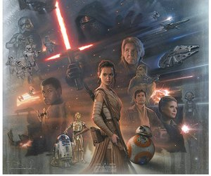 star wars, han solo, and the force awakens image