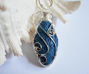 gift, pendant, and wire wrapped image