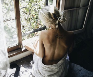 blonde, style, and summer image