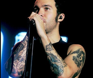 pete wentz, fall out boy, and FOB image