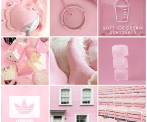 aesthetic, pink, and pastel pink image