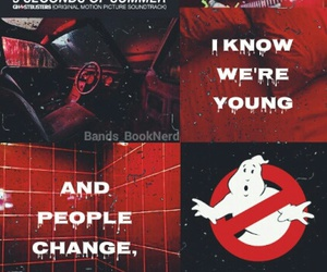 background, lockscreen, and Ghostbusters image
