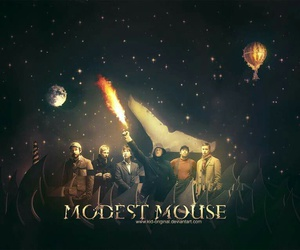 bands, modest mouse, and love image