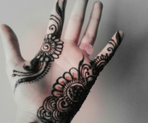 colour, simple, and mehandi image
