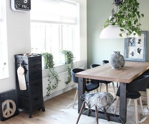 dining room, goals, and green image