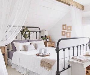bedroom and rustic image