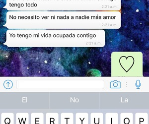 amor, whatsapp, and frases image