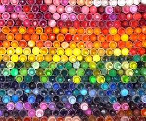 colorful, crayon, and colors image