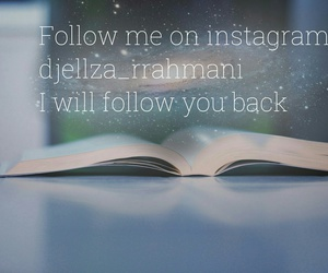 follow and instagram image