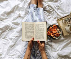 book, beautiful, and bed image