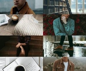 aesthetic, harry potter, and remus lupin image