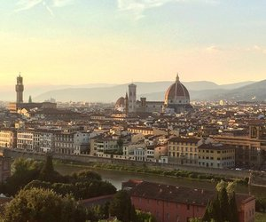 architecture, city, and florence image