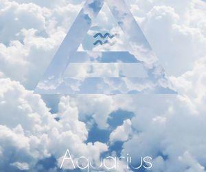 aquarius, art, and astrology image