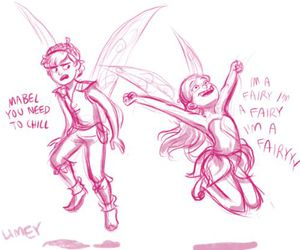 gravity falls, fairy, and mabel image