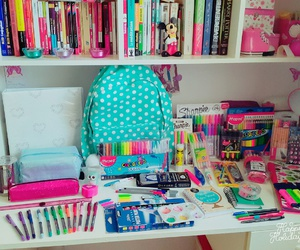 girl, school, and organization image