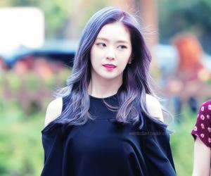 purple hair, red velvet, and irene image