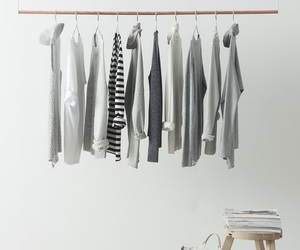 clothes, white, and grey image