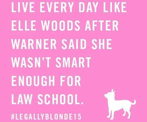 Law and legally blonde image