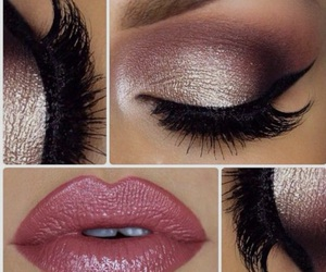 eye, inspiration, and lips image
