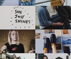 aesthetics, blonde, and emily fitch image