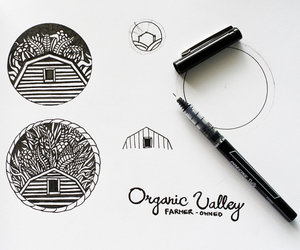 black and white, design, and identity image
