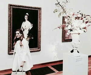art, fashion, and flowers image