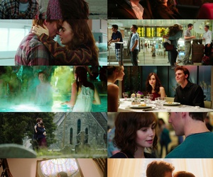 lily collins, finnick odair, and simplesmente acontece image
