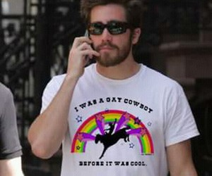 jake gyllenhaal, gay, and brokeback mountain image