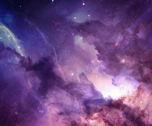 galaxy, wallpaper, and purple image