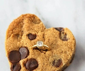 chocolate, Cookies, and ring image
