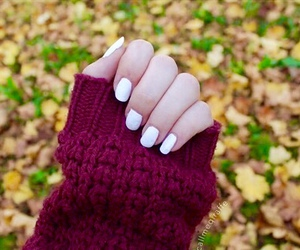 nails, autumn, and tumblr image