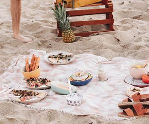 picnic, beach, and drink image