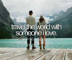 travel, love, and Dream image