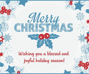 merry christmas, christmas greeting cards, and merry christmas 2016 image