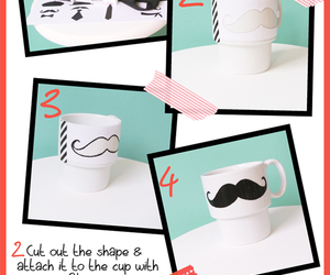 cups, diy, and funny image
