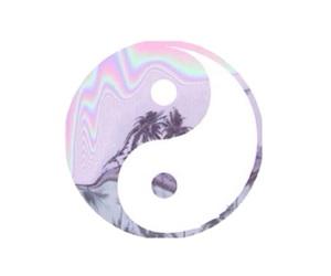 transparent, overlay, and yin yang image