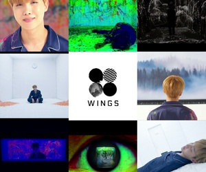 mama, wings, and bts image