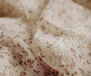 floral and lace image