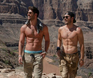 abs, boys, and man image