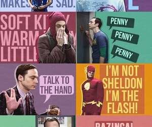 sheldon, funny, and the big bang theory image