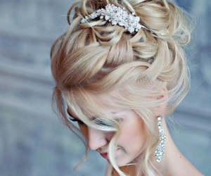 blonde, braid, and charming image