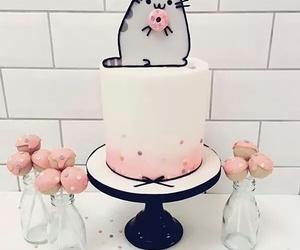 cake, sweet, and pusheen image